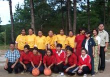 Basket ball Team - DIET 2007